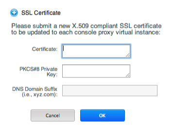 Updating Console Proxy SSL Certificate
